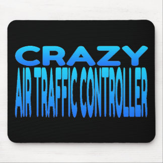 Crazy Air Traffic Controller Mouse Mat