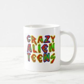 Crazy Alien Teens - Cat Zen Coffee Mugs