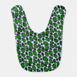 Crazy Animal Print Abstract Baby Bibs