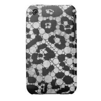 Crazy Animal Print Abstract iPhone 3 Case