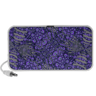 Crazy Animal Print Abstract Mp3 Speakers
