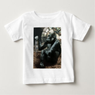 Crazy Ape Gorilla Animals Baby T-Shirt
