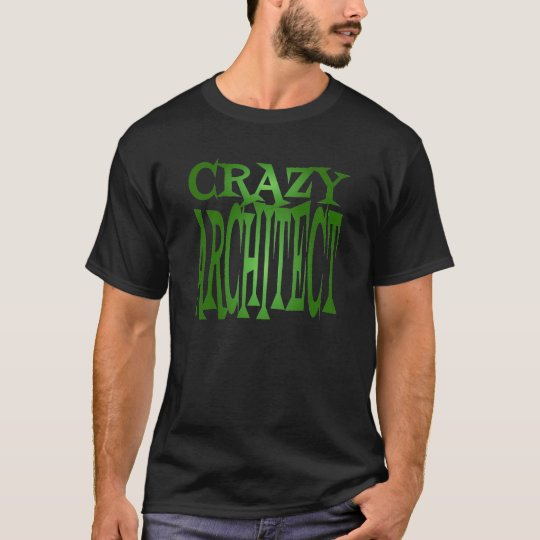 Crazy Architect in Green T-Shirt