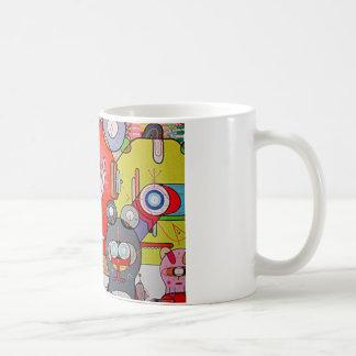 crazy art coffee mug