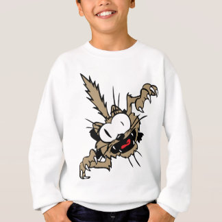 Crazy Attack Cat Sweatshirt