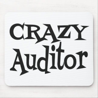 Crazy Auditor Mouse Mat