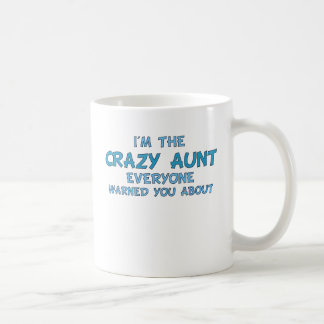 Crazy Aunt Coffee Mug