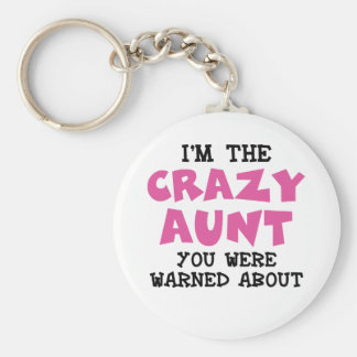 Crazy Aunt Keychain