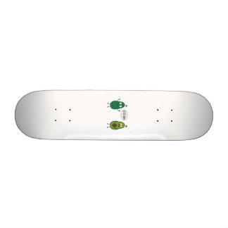 crazy avocado undresses skate board deck