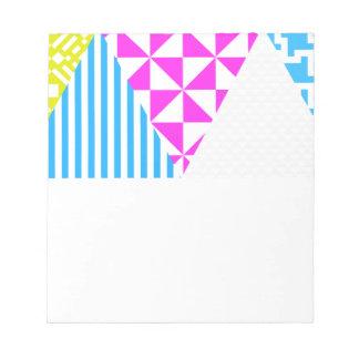 Crazy Aztec Colour Fun 80's Look Notepad