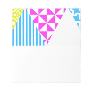 Crazy Aztec Colour Fun 80's Look Notepads