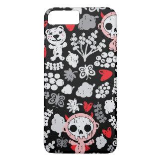 Crazy babies pattern iPhone 8 plus/7 plus case