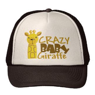 Crazy Baby Giraffe Hat