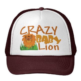 Crazy Baby Lion Hat