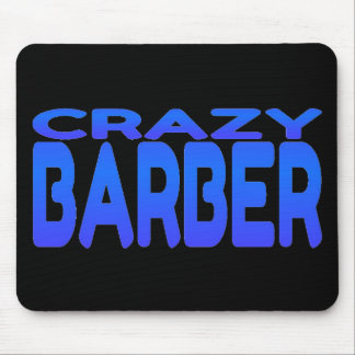 Crazy Barber Mouse Mat