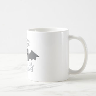 crazy bat lady circle coffee mug