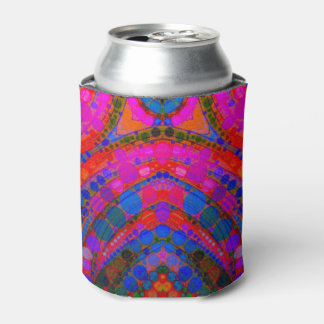 Crazy Beautiful Abstract Beverage Can Cooler