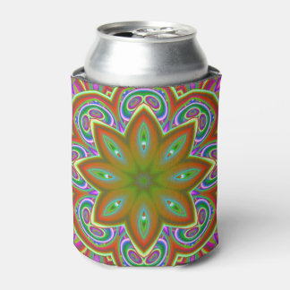 Crazy Beautiful Abstract Can Cooler