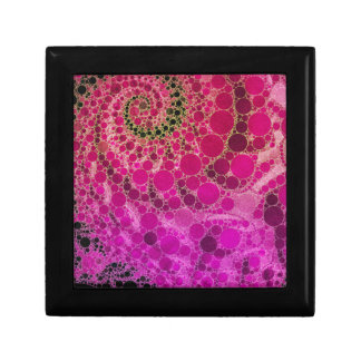 Crazy Beautiful Abstract Small Square Gift Box