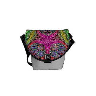 Crazy Beautiful Abstract Courier Bag