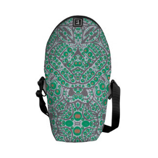 Crazy Beautiful Abstract Messenger Bags