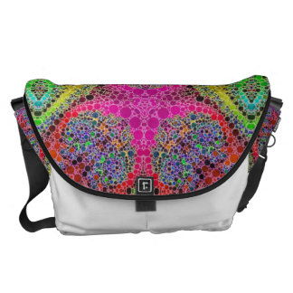 Crazy Beautiful Abstract Commuter Bag