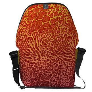 Crazy Beautiful Abstract Messenger Bag