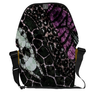 Crazy Beautiful Abstract Courier Bags