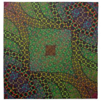 Crazy Beautiful Abstract Cloth Napkin