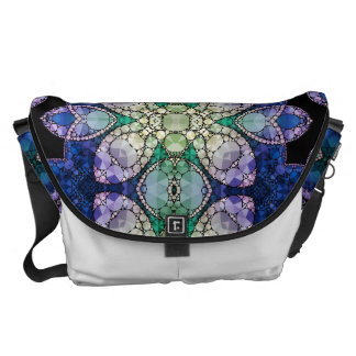 Crazy Beautiful Abstract Pattern Courier Bag