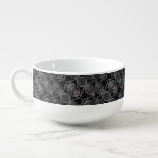 Crazy Beautiful Abstract Pattern Soup Mug