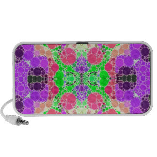 Crazy Beautiful Abstract Mp3 Speaker