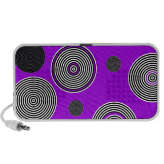 Crazy Beautiful Abstract Travelling Speakers