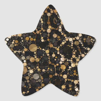 Crazy Beautiful Abstract Star Sticker