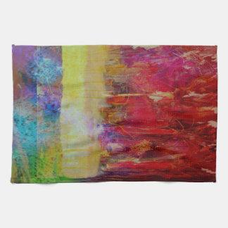 Crazy Beautiful Abstract Tea Towel