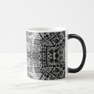 Crazy Beautiful Black&White Abstract Morphing Mug