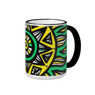 Crazy Beautiful Intelligent Incredible Ringer Mug