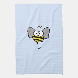 Crazy Bee Tea Towel