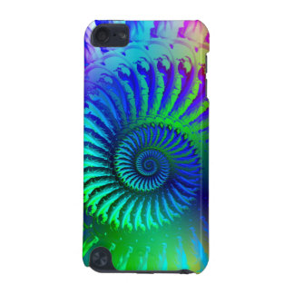 Crazy Blue Fractal Pattern iPod Touch (5th Generation) Case