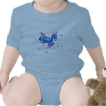 CRAZY BLUE TREE FROGS BODYSUITS