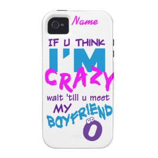 Crazy Boyfriend custom iPhone 4 Case-Mate Case-Mate iPhone 4 Cover