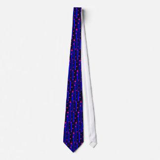 Crazy bright tie