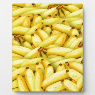 Crazy Bunches of Yellow Bananas Plaque