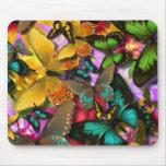 Crazy Butterflies Mouse Pad