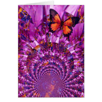 Crazy Butterfly Card