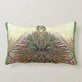 Crazy Cactus Photo Art Lumbar Throw Pillow