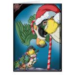 Crazy Caiques Christmas Card