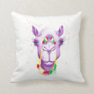 "Crazy Camel Cotton Pillow 16"" x 16"""