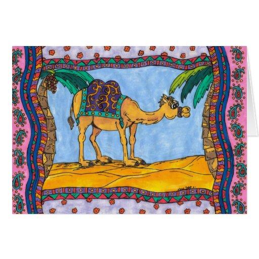 Crazy Camel Greeting Card