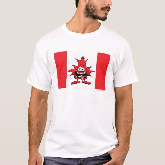 Crazy Canuck Insane Maple Leaf Shirt